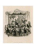 Melodrama at the Royal Victoria Theatre Giclee Print