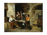 In the Tavern Giclee Print by Jose Benlliure Y Gil