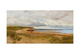 When the Tide Is Low - Maer Rocks, Exmouth, C.1870 Giclee Print by James Bruce Birkmyer