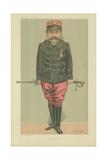 Major Esterhazy Giclee Print by Jean Baptiste Guth