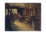 James Watt's Workshop, 1889 Giclee Print by Jonathan Pratt