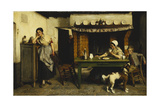 Love's Distraction, 1880 Giclee Print by Evariste Carpentier