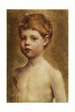 Portrait of a Boy Giclee Print by Annie Louisa Swynnerton