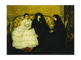 La Consolation, 1857 Giclee Print by Alfred Emile Stevens