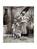 Women, Jamaica Giclee Print by J. W. Cleary