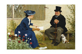 The Contract Giclee Print by William III Bromley