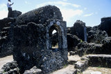 Ruins of a 13th Century Mosque, Kaole Village, Tanzania Photographic Print