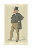 Mr Arthur Loftus Tottenham, Lofty, 15 April 1882, Vanity Fair Cartoon Giclee Print by Sir Leslie Ward