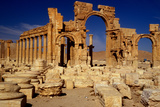 Ancient Roman City of Palmyra, Syria Photographic Print