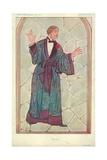 M Lou-Tellegen, Dorian Gray, 10 September 1913, Vanity Fair Cartoon Giclee Print