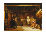 The Painter's Studio, 1856 Giclee Print by James Digman Wingfield