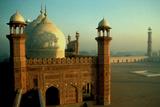 Badshahi Mosque, Lahore, Pakistan Fotografická reprodukce