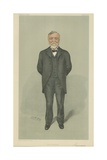 Mr Andrew Carnegie Giclee Print by Sir Leslie Ward