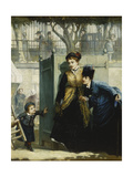 Hide and Seek, 1876 Giclee Print by Albert Ludovici