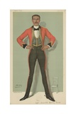 Captain Oswald Henry Ames Giclee Print by Sir Leslie Ward