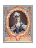 Marie Antoinette, Queen of France and Navarre Giclee Print by Jean-francois Janinet