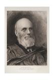 Alfred Robinson, 1896 Giclée-Druck von Sir Hubert von Herkomer
