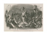Solomon Eagle Preaching Repentance During the Plague Giclee Print by Paul Falconer Poole