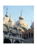 St Mark's Basilica Venice Giclee Print