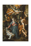 The Adoration of the Shepherds Giclee Print by Hendrik De Clerck