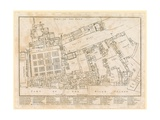 Plan of the Palace of Whitehall, Taken in the Reign of Charles II, 1680 Giclee Print