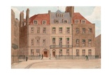 Red Lion Square, Holborn, London. Nos 22, 23 and 24 Giclee Print by John Phillipp Emslie