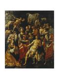 The Raising of Lazarus Giclee Print by Hendrik De Clerck