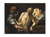 The Martyrdom of Saint Bartholomew Giclee Print by Sisto Badalocchio