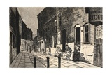 Illustration from 'La Rue a Londres', Pub. by G. Charpentier Et Cie, 1884 Giclee Print by Auguste Andre Lancon