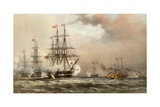 The Nore, 6 March 1863 Giclee Print by Robert Dudley