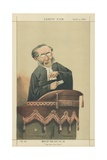 Reverend John Cumming Giclee Print by Adriano Cecioni