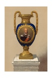 Porcelain Vase, Presented by their Majesties the King and Queen of Prussia Giclee Print by Robert Dudley