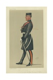 Colonel the Hon Herbert Francis Eaton Giclee Print by Sir Leslie Ward