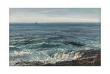 Seascape, 1877 Giclee Print by Henry Moore