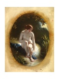 A Naiad Giclee Print by William Edward Frost