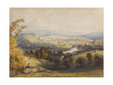 Exeter from Exwick, 1773 Giclee Print by William Havell