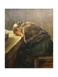Mourning Giclee Print by Fritz von Uhde