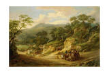 Nadderwater Near Exeter, C.1825 Giclee Print by James Leakey