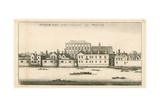 Whitehall Palace Giclee Print by  English School