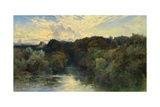 On the Greta, Yorkshire, 1890 Giclee Print by Keeley Halswelle