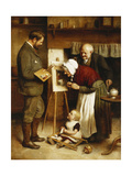 The Very Image, 1884 Giclee Print by Joseph Clark