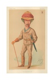 Sir Garnet J Wolseley, the Man Who Won't Stop, 18 April 1874, Vanity Fair Cartoon Giclee Print by Carlo Pellegrini