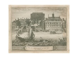 Whitehall from the River Thames Giclee Print