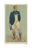 W E Crum, President of the Oxford University Boat Club Giclee Print by Sir Leslie Ward