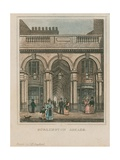 Exterior View of Burlington Arcade Giclee Print by Thomas Hosmer Shepherd
