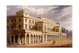 The Opera House, Formerly the Lyceum, London, 1826 Giclee Print by Daniel Havell