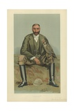 The Hon Gerald William Lascelles Giclee Print by Sir Leslie Ward