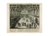 Westminster Hall, the First Day of Term, a Satirical Poem Giclee Print