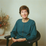 Patricia Beer, 1990 Photographic Print