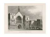 Westminster Hall Giclee Print by Thomas Hosmer Shepherd